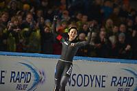 SCHAATSEN: AMSTERDAM: Olympisch Stadion, 10-03-2018, WK Allround, Coolste Baan van Nederland, 5000m Ladies, Wereldkampioen - World Champion Miho Takagi (JPN), ©foto Martin de Jong