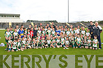 Children from all over Kerry at the Hurling Summer Camp at Austin Stack Park on Friday..