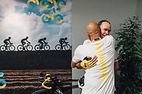 Picture by Russell Ellis/russellis.co.uk/SWpix.com - image archived on 25/04/2019 Cycling Tour de France 2018 - Team Sky at the Tour de France - STAGE 21: HOUILLES - PARIS Champs-Elysées 29/07/2018<br /> - Chris Froome