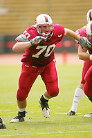 Jeff Edwards during the Spring Game on April 26, 2003 at Stanford Stadium.<br />