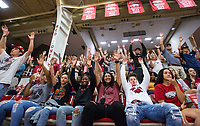 NWA Democrat-Gazette/BEN GOFF @NWABENGOFF<br /> Members of the Arkansas women's basketball team join fans in a hog call Saturday, Oct. 5, 2019, during the annual Arkansas Red-White Game at Barnhill Arena in Fayetteville.