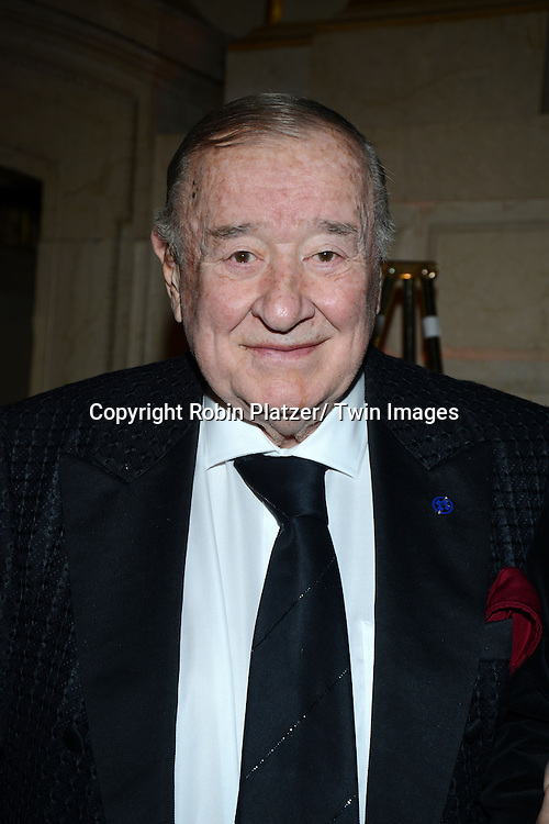 Sirio Maccioni attends the New York Landmarks Consevancy's 20th Annual Living Landmarks Celebration on November 14, 2013 at the Plaza Hotel in New York City.