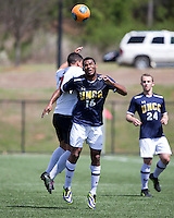 The UNC Greensboro Spartans played the University of South Carolina Gamecocks in The Manchester Cup on April 5, 2014.  The teams played to a 0-0 tie.  Quin Lema (16), Asa Kryst (7)