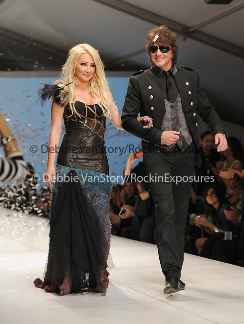 Nikki Lund and Richie Sambora walk the Runway at The WTB Spring 2011 Fashion Show Presented by Richie Sambora & Nikki Lund held at Sunset Gower Studios in Hollywood, California on October 17,2010                                                                               © 2010 Hollywood Press Agency