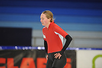 SCHAATSEN: HEERENVEEN: 19-11-2016, IJsstadion Thialf, KNSB trainingswedstrijd, Aveline Hijlkema, ©foto Martin de Jong