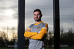 A day in the life of Newport County striker Padraig Amond.<br /> Dragon Park - Newport<br /> 22.12.19<br /> ©Steve Pope<br /> Sportingwales