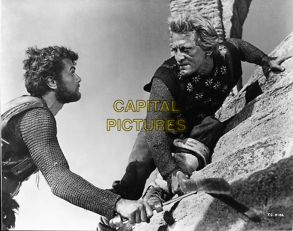 The Vikings (1958) <br /> Tony Curtis, Kirk Douglas<br /> *Filmstill - Editorial Use Only*<br /> CAP/KFS<br /> Image supplied by Capital Pictures