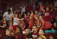 NWA Democrat-Gazette/MICHAEL WOODS &bull; @NWAMICHAELW<br /> University of Arkansas Razorbacks vs the Sam Houston State Bearkats  Friday, November 11, 2016 during Elementary School Day at Bud Walton Arena in Fayetteville.