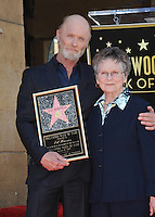 Actor Ed Harris &amp; mother Margaret Sholl Harris on Hollywood Boulevard where he was honored with the 2,546th star on the Hollywood Walk of Fame.<br /> March 13, 2015  Los Angeles, CA<br /> Picture: Paul Smith / Featureflash