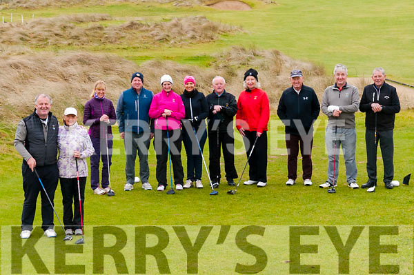 Captain's Drive in : Pictured at the Ballybunion Golf  club Captain's drive-in on Sunday last.
