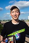 HALLANDALE BEACH, FL - JANUARY 25: Best apprentice jockey, Kazushi Kimura on January 25, 2020 at Gulfstream Park in Hallandale Beach, Florida. Kaz Ishida/Eclipse Sportswire/CSM