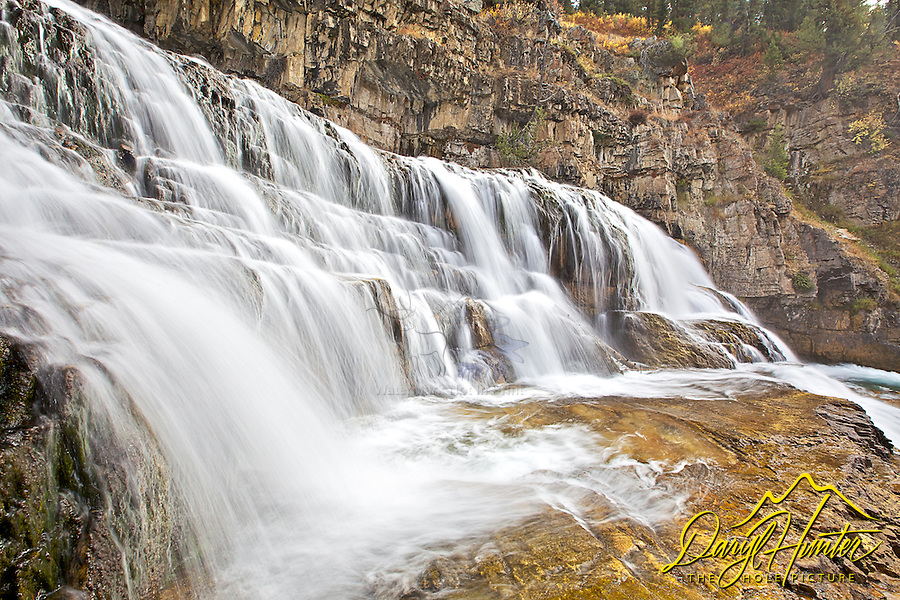 Granite Creek Falls, Bondurant Wyoming