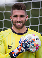 Goalkeeper Matt Ingram during the PEAK Elite Sportswear Photoshoot at Wycombe Training Ground, High Wycombe, England on 1 August 2017. Photo by PRiME Media Images.