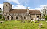 Village parish church of Saint George, Shimpling, Suffolk, England, UK