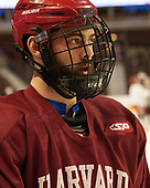 Luke Esposito (Harvard - 9) - The Harvard University Crimson practiced at the United Center on Wednesday, April 5, 2017, in Chicago, Illinois.