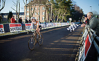 victory for Sabrina Stultiens (NLD/Rabobank-Liv)<br /> <br /> CX Leuven Soudal Classic 2015