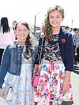 Rachel Brooks and Sarah Faulkner who were confirmed in Holy Family church Ballsgrove. Photo:Colin Bell/pressphotos.ie