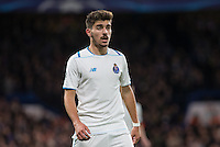 Arsenal transfer target Ruben da Silva Neves of FC Porto during the UEFA Champions League group G match between Chelsea and FC Porto at Stamford Bridge, London, England on 9 December 2015. Photo by Andy Rowland.