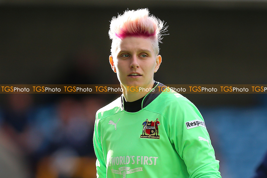Juliana Draycott of Sheffield during Millwall Lionesses vs Sheffield FC Ladies, FA Women's Super League FA WSL2 Football at The Den on 9th October 2016