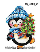 CHRISTMAS ANIMALS, WEIHNACHTEN TIERE, NAVIDAD ANIMALES, paintings+++++,KL6123/2,#xa# ,sticker,stickers