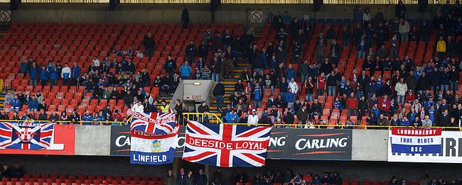 Rangers fans pre-match