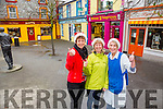 l-r  Nora Milan of Dress To Impress, Oonagh Stokes of Listowel Travel and Jodie Cahill of Catch Of The Day Fish Shop