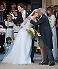 WEDDING OF PRINCE AMEDEO AND ELISABETTA MARIA ROSBOCH VON WOLKENSTEIN<br /> Elisabetta Maria Rosboch von Wolkenstein receives a kiss from her dad Ettore Rosboch von Wolkenstein at the Basilica of Santa Maria in Trastevere, in Rome, Italy_05/07/2014<br /> Mandatory Credit Photos: &copy;NEWSPIX INTERNATIONAL<br /> <br /> **ALL FEES PAYABLE TO: &quot;NEWSPIX INTERNATIONAL&quot;**<br /> <br /> PHOTO CREDIT MANDATORY!!: NEWSPIX INTERNATIONAL(Failure to credit will incur a surcharge of 100% of reproduction fees)<br /> <br /> IMMEDIATE CONFIRMATION OF USAGE REQUIRED:<br /> Newspix International, 31 Chinnery Hill, Bishop's Stortford, ENGLAND CM23 3PS<br /> Tel:+441279 324672  ; Fax: +441279656877<br /> Mobile:  0777568 1153<br /> e-mail: info@newspixinternational.co.uk