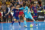 League LNFS 2017/2018.<br /> PlayOff Final-Game 4.<br /> FC Barcelona Lassa vs Movistar Inter FS: 3-3.<br /> FCB por penaltys.<br /> Joao vs Daniel.
