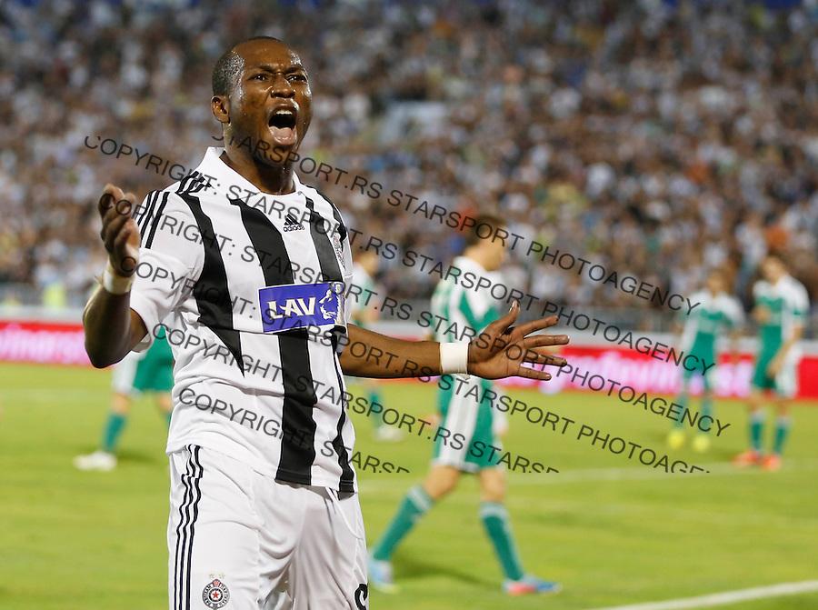 Fudbal UEFA Champions League season 2012-2013<br /> Third qualifying round, Second leg<br /> Partizan v Ludogorec<br /> Eric Djemba-Djemba<br /> Beograd, 06.08.2013.<br /> foto: Srdjan Stevanovic/Starsportphoto &copy;