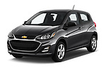 2019 Chevrolet Spark LS Select Doors Door Hatchback angular front stock photos of front three quarter view