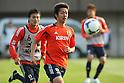 (L to R) Yasuyuki Konno (JPN), Hideto Takahashi (JPN), .April 24, 2012 - Football / Soccer : .Japan National Team Training Camp .at Akitsu Park football Stadium, Chiba, Japan. .(Photo by Daiju Kitamura/AFLO SPORT) [1045]