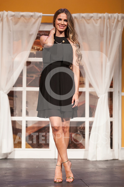 Actress Vanesa Romero poses for `El Clan de las Divorciadas´ theater play presentation in Madrid, Spain. August 19, 2015. (ALTERPHOTOS/Victor Blanco)