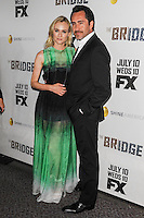 LOS ANGELES, CA - JULY 08: Series Premiere Of FX's 'The Bridge' at DGA Theater on July 8, 2013 in Los Angeles, California. (Photo by Rob Latour/Celebrity Monitor)