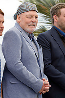 Stacy Keach at  the photocall for 'Rendezvous With John Travolta - Gotti' during the 71st annual Cannes Film Festival at Palais des Festivals on May 15, 2018 in Cannes, France.<br /> CAP/GOL<br /> &copy;GOL/Capital Pictures