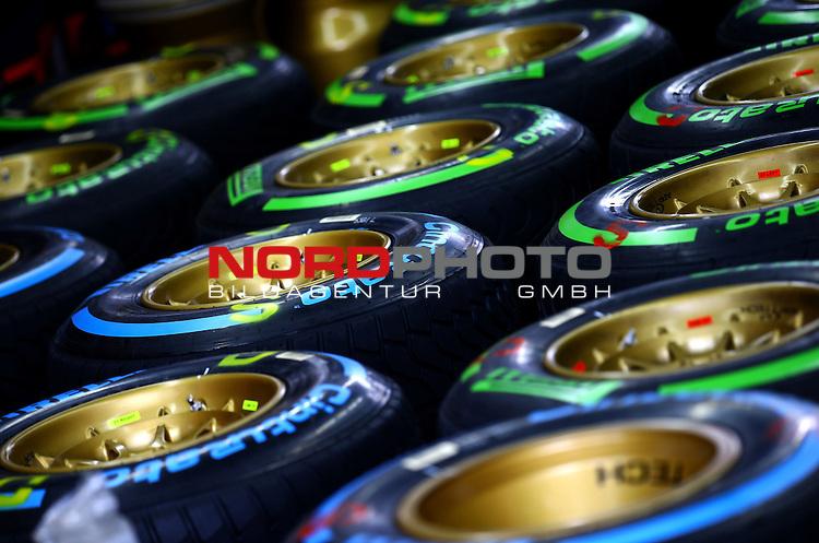 18.-21.06.2015, Red Bull Ring, Spielberg, AUT, RED BULL RING, SPIELBERG, EROEFFNUNG, im Bild   Pirelli Tyres<br />  Foto &copy; nph / Mathis