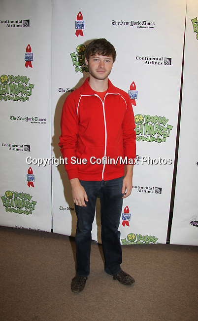 All My Children's Bobby Steggert at The 24th Annual Broadway Flea Market & Grand Auction to benefit Broadway Cares/Equity Fight Aids on September 26, 2010 in Shubert Alley, New York City, New York. (Photo by Sue Coflin/Max Photos)
