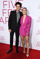 07 March 2019 - Westwood, California - Cole Sprouse, Haley Lu Richardson. &quot;Five Feet Apart&quot; Los Angeles Premiere held at the Fox Bruin Theatre. <br /> CAP/ADM/BT<br /> &copy;BT/ADM/Capital Pictures