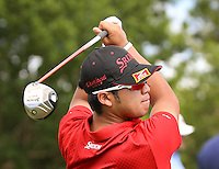 151201  Japan's Hidecki Matsuyama during Tuesday's Practice Round of The Hero World Challenge at The Albany Golf Club, in Nassau,Bahamas.(photo credit : kenneth e. dennis/kendennisphoto.com)