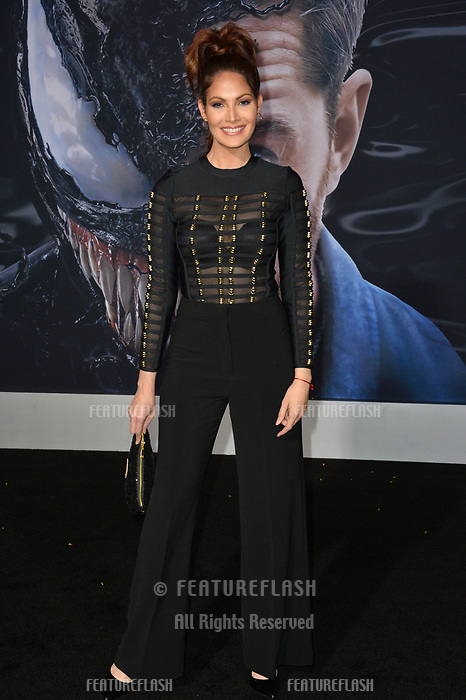LOS ANGELES, CA. October 01, 2018: Cynthia Olavarria at the world premiere for &quot;Venom&quot; at the Regency Village Theatre.<br /> Picture: Paul Smith/Featureflash