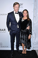 LOS ANGELES, CA. October 27, 2016: Melissa Sears &amp; Teddy Sears at the 2016 amfAR Inspiration Gala at Milk Studios, Los Angeles.<br /> Picture: Paul Smith/Featureflash/SilverHub 0208 004 5359/ 07711 972644 Editors@silverhubmedia.com
