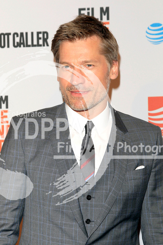 Nikolaj Coster-Waldau attends the premiere of 'Shot Caller' at The Theatre at Ace Hotel on August 15, 2017 in Los Angeles, California.