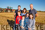 Enjoying  the Annual Ploughing Match in Ballyheigue,  held in the Rectory Field, Flahive Family on Sunday were front l-r  Luke O'Mahony, William Stack, Maggie Stack and Lilly Stack. Back l-r  Padraig Supple, Angela O'Mahony and Mark Stack