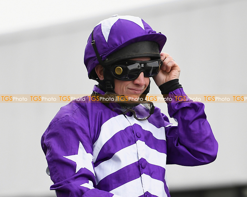 Jockey Jamie Moore during Horse Racing at Plumpton Racecourse on 10th February 2020