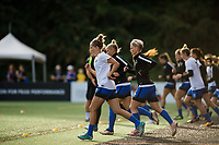 Seattle, WA - Sunday, September 24th, 2017: Elli Reed during a regular season National Women's Soccer League (NWSL) match between the Seattle Reign FC and FC Kansas City at Memorial Stadium.