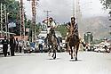 Turkey 2008 Horse race in the street of Dogubayazit  Turquie 2008   Course de chevaux dans une rue de Dogubayazit