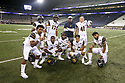 SEATTLE, WA - September 07: Cal's players posed after the game between the Washington Huskies and the California Bears on September 07, 2019 at Husky Stadium in Seattle, WA. Jesse Beals / www.Olympicphotogroup.com