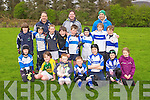 U10s front l-r Kelly Mahony, Rory Murphy, Tommy Donnelly, Sean Crowley, Michael Moritz, Sharon Cahill, Lauren Clifford, Middle l-r Jack Bolger, John Duggan, Robert Monaghan, Donal O'Sullivan, Dylan Walsh, Jack Doyle, Jed Hanley,Rory Healy, back l-r  Mick Bolger,  Raff Crowley and  Dave Doyle, at the Tralee Rugby Club Blitz at O'Dowd Park on Saturday