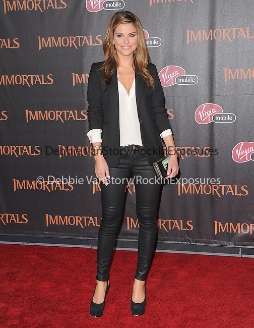 Maria Menounos attends the Relativity World Premiere of Immortals held at The Nokia Theater Live in Los Angeles, California on November 07,2011                                                                               © 2011 DVS / Hollywood Press Agency