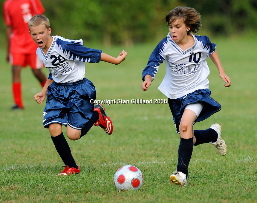 Bluestone Middle School v Central<br /> Bluestone Middle<br /> Skipwith, VA<br /> <br /> Game ended in 1-1 tie after two OT's.
