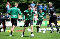 HAREN - Voetbal, Eerste Training FC Groningen  sportpark de Koepel, 01-07-2017,  FC Groningen speler Django Warmerdam